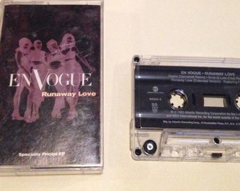 En Vogue : Runaway Love Specially Priced EP audio cassette tape