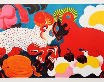Rams by Nicolas Uriburu