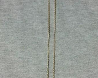 Vintage Framed Floral Necklace