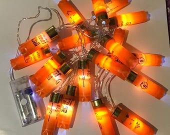 Shotgun Cartridge Lights - Orange