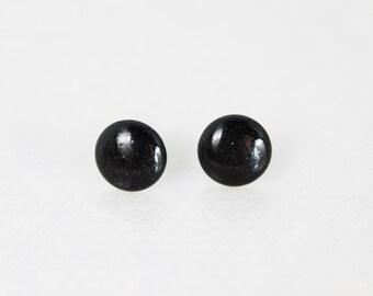 Charcoal Stud Earrings, Hypoallergenic Jewelry, Stud Earrings, Gifts for Him, Gifts For Her