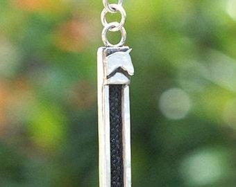 Custom horse,horsehair keyring,braided keyring, custom keyring, horse keyring, silver horse keyring, 9ct gold horse keyring,horse jewellery