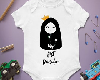 My first Ramadan / Baby Infant Newborn / Bodysuit Onesie / Baby shower First 1st birthday / Present Gift / Clothing Clothes / Boy Girl
