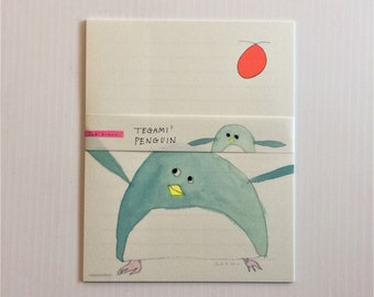 Japanese Stationery Letter Writing Set by  Subikawa - Penguin
