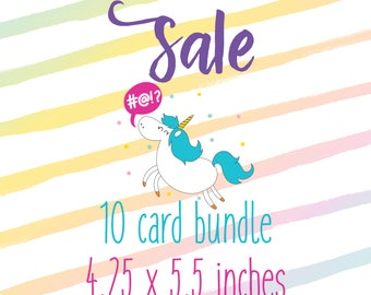 10 Card Pack (4.25 x 5.5 inches)