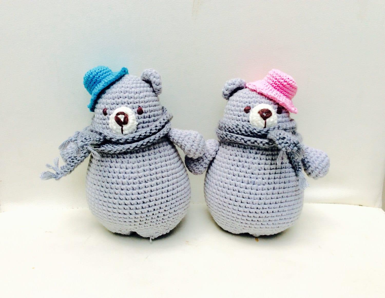 Häkeln Sie Bär Crochet Amigurumi Bär Hochzeitsdeko Hochzeit