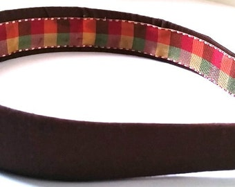 Brown Headband One Inch