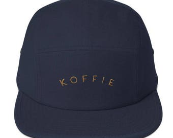 Koffie aka coffee in Dutch - Five Panel Cap