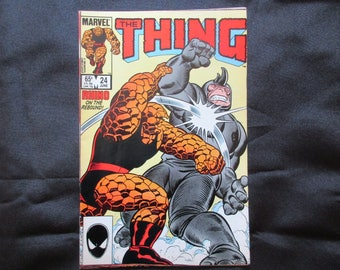 The Thing #24 Marvel Comics 1985