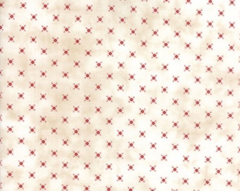 Moda - Needle & Thread Gatherings - Hubble Natural - Tallow  - Fabric by the Yard 1235-11