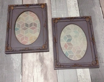 Shabby chic photo frames | painted picture frames