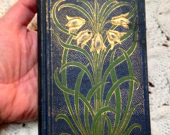 """Antique 1893 """"Jesus Only"""" Compiled by Hannah M Johnson- American Tract Society- Rare Old Christian Daily Devotional Readings Book"""