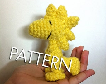 Amigurumi Patterns Snoopy : Pdf crochet pattern snoopy and woodstock inspired amigurumi
