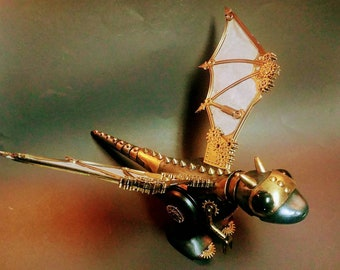 Goldie the Steampunk Dragon