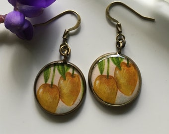 Mangos (Earrings)