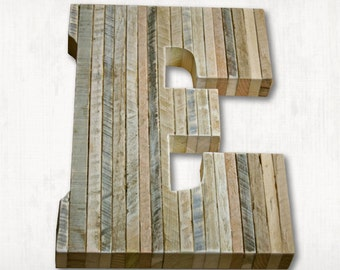 """Pallet Letters. A to Z. Rustic Edge Rustic Wedding Decor Personalized Reclaime Wood Letter Rustic Home Decor 14"""" reclaimed letter"""