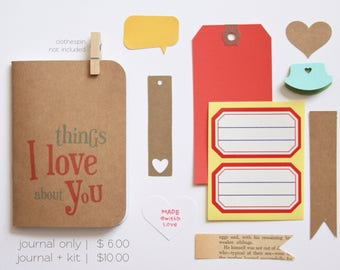 Things I Love About You, Reasons I Love You, Birthday Card, Anniversary Gift, Romantic Card, Anniversary Card, Boyfriend, Girlfriend, Gift