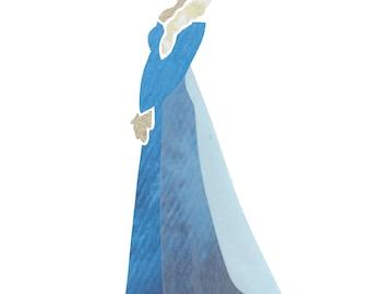 Elsa (Disney's Frozen) Silhouette