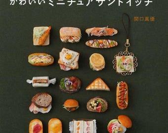 Cute Miniature Clay Sandwiches  - Japanese Craft Book
