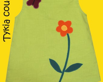 Summer - Dress girl from 6 months-