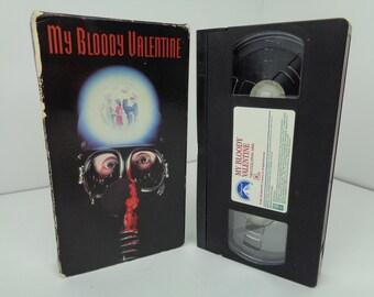 My Bloody Valentine VHS Tape 1981