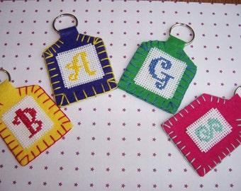 Bag Charm, Key Ring, Individualy Made, Unique Item, Made to custom, Felt Charm, Bag Accessory, Key Ring Item,