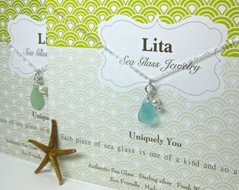 Uniquely You Sea Glass Necklace | Sea Glass Jewelry | Beach Glass Jewelry | Jewelry | Sea Glass Gift | Women's Necklace | Necklace