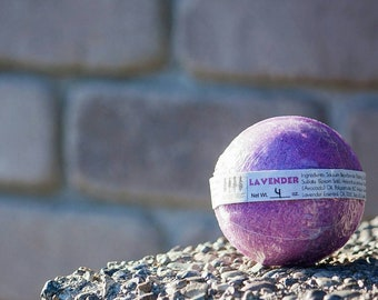 Lavender Bath Bomb- Purple Bath Bomb- Aromatherapy- Essential Oils- Lavender- Bath Bombs- Purple- Pure- Pink- Bath Art- Kids Bath Bomb- Bath