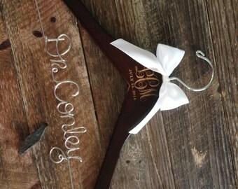 Doctor Hanger, Doctor Graduation Gift, Lab Coat Hanger, PhD Graduation Gift, Personalzied Gift, Dr. Hanger, White Coat Ceramony, Monogram
