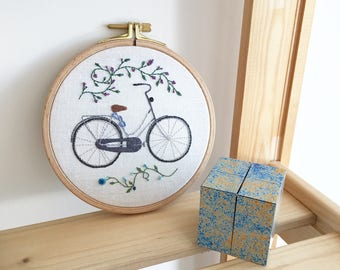 Custom Bicycle Embroidery