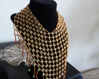 Hand made beaded nacklace