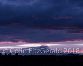 Sunset on the Mountain 1