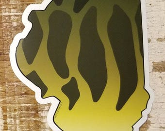 Illinois Smallmouth Bass Sticker Decal