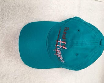 Teal and Pink Sunshine Hippie Hat