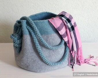 Crochet Pattern Bag Charlotte | Haak Patroon Handtas Charlotte