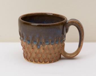 Brown Dragon Scale Mug