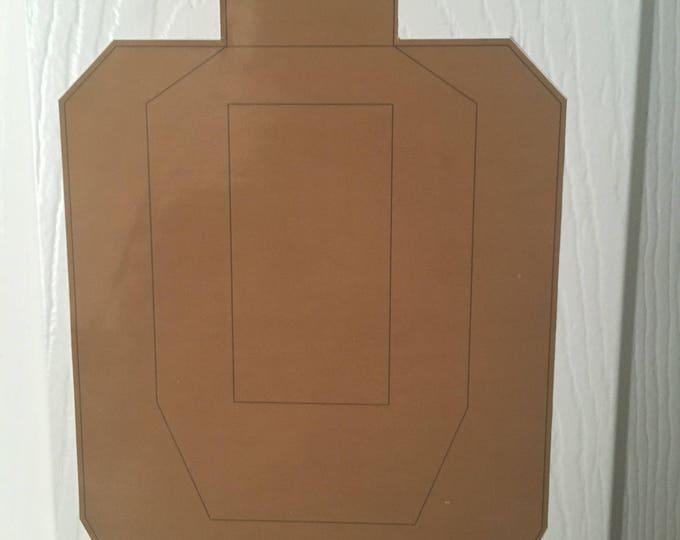 USPSA Target - Large - Customizable