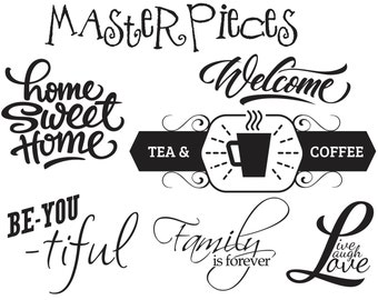 Wall Decal Sample Pack
