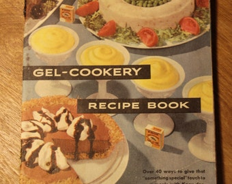 Gel-Cookery Recipe Book by the Chas. B. Knox Gelatine Co, item #286