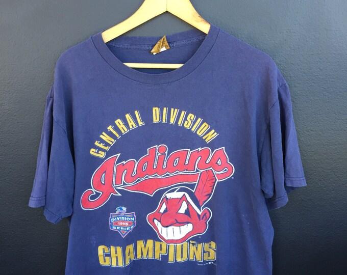 Cleveland Indians MLB 1995 Vintage T-shirt