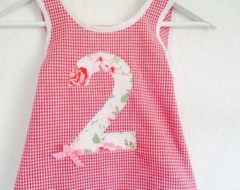 Birthday Dress, Apron dress