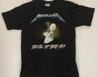 """METALLIC """"Vintage 1994"""" Metal Up Your Ass T-Shirt"""
