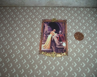 1:12 dollhouse miniature Tapestry