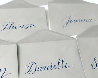 Wedding Invitation Envelope Calligraphy-modern calligraphy envelopes-custom envelope addressing-inner outer envelope addressing