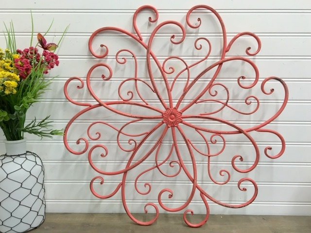 Outdoor Scroll Wall Art Entrancing Outdoor Wall Artwall Decorbohemianmetal Wall Design Decoration