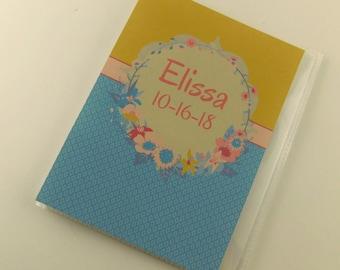 Photo Album Grandmas Brag Book Personalized Gift 4x6 or 5x7 Picture Girl Baby Shower Bridal Wedding Birthday 909