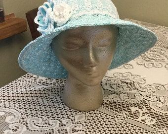 Crochet Sun Hat Pattern, Women's Crochet Hat