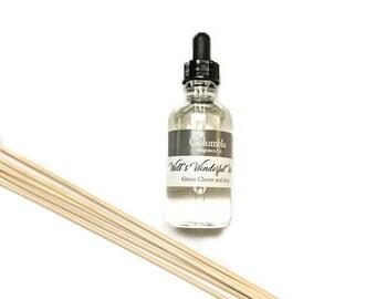 WALT'S WONDERFUL WORLD - Green Clover and Aloe (Disney scented) diffuser oil, 2 oz refill