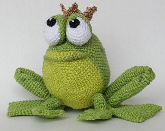 Amigurumi Crochet Pattern - Henri le Frog - English Version