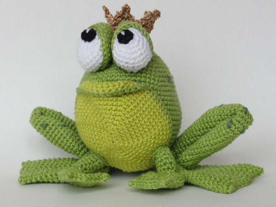 Amigurumi Crochet Pattern Henri Le Frog English Version From